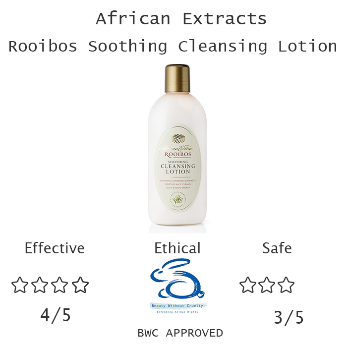 The Stylist's Notebook Beauty Review Cleasners for Sensitive Skin- African Extracts Rooibos Soothing Cleansing Lotion