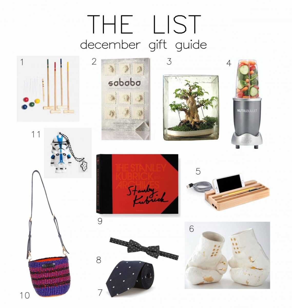 THE LIST – December Gift Guide!