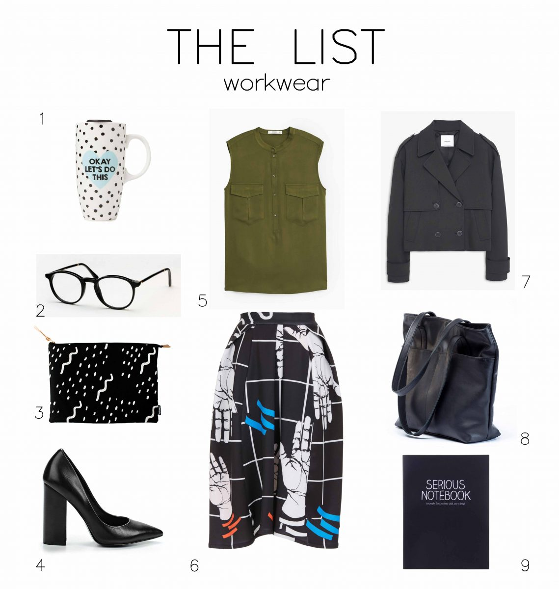 THE LIST: WORKWEAR