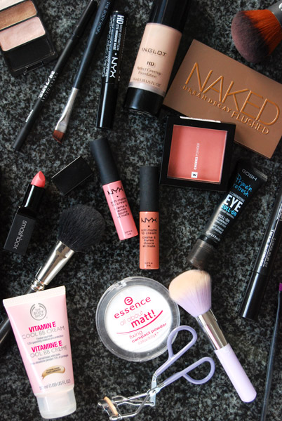 CRUELTY FREE MAKE UP BASICS